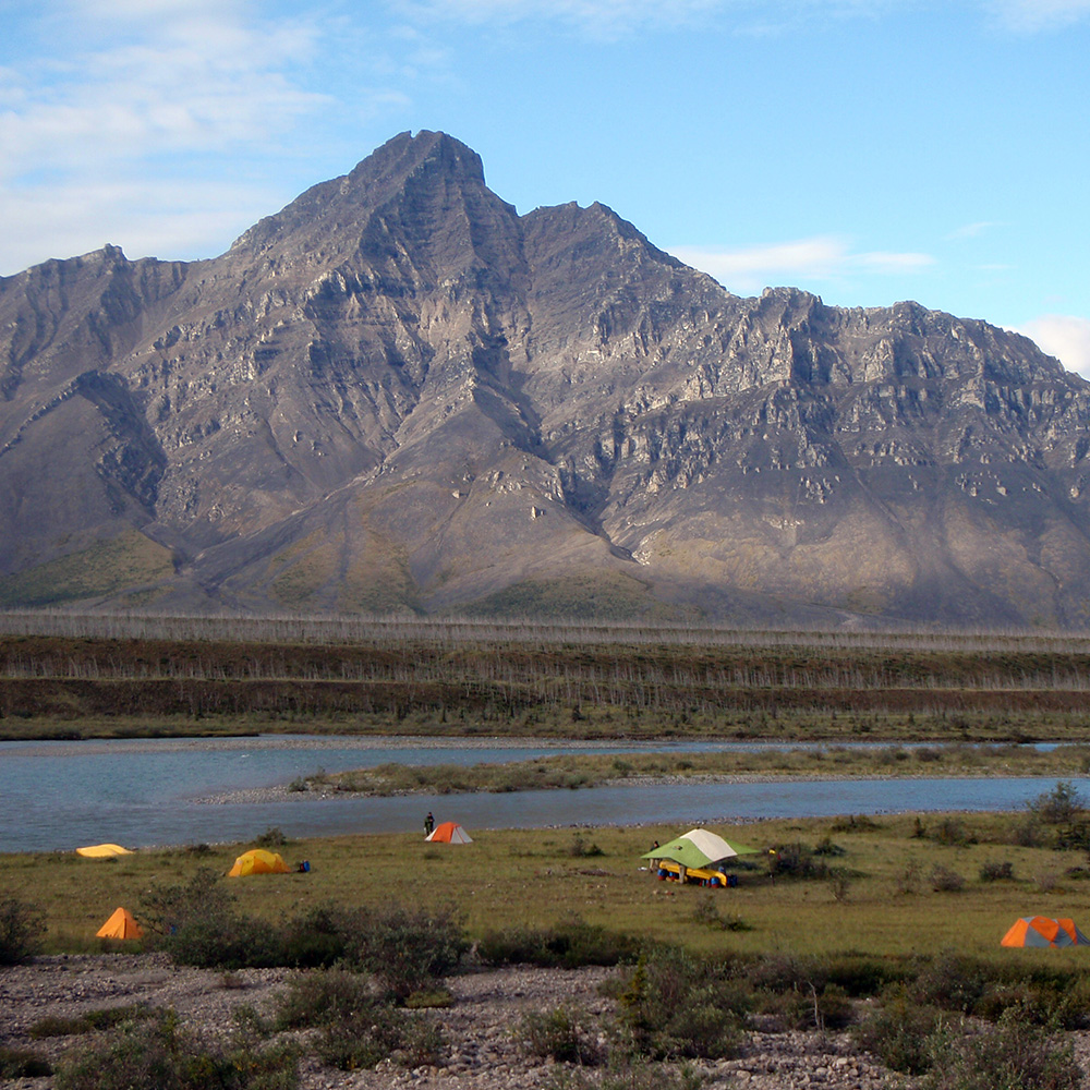 River edge camp