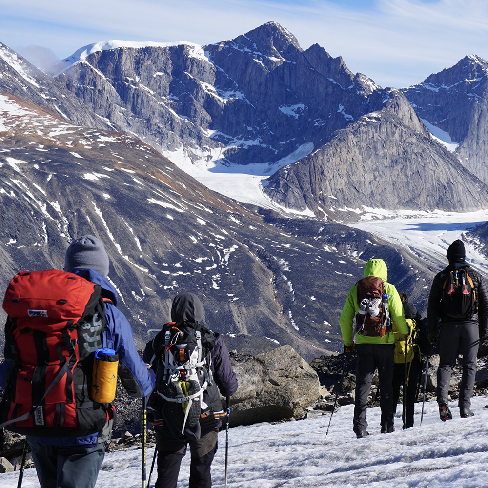 auyuittuq hiking (Black Feather)