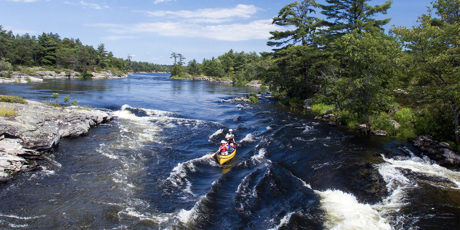 French River, Ontario (Black Feather)