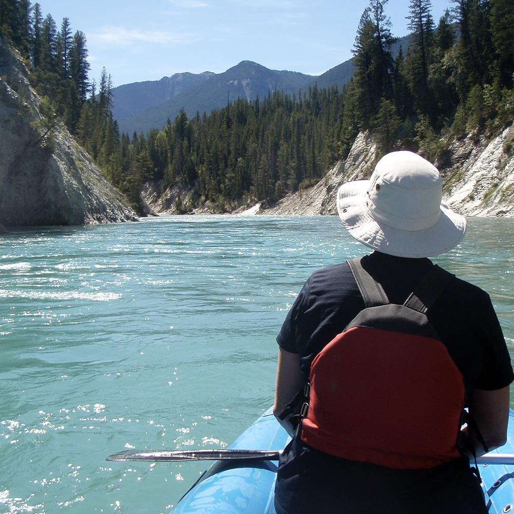 Kootenay River, BC (Black Feather)
