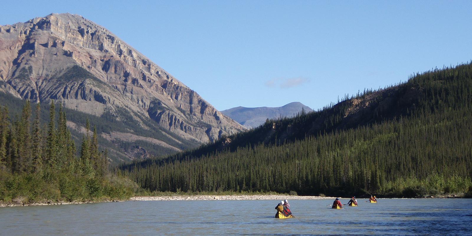 Mountain River, NWT (Black Feather)