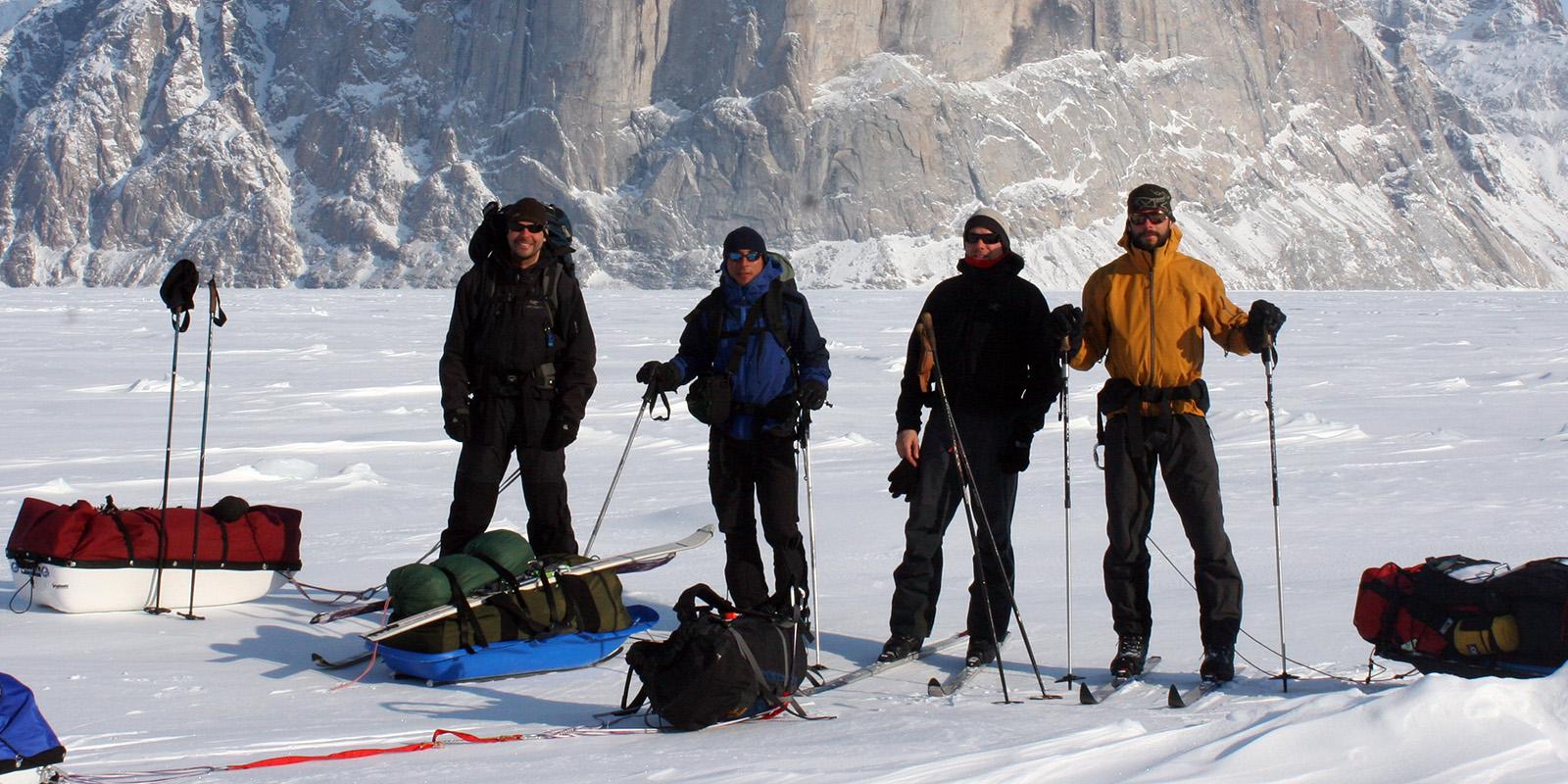 Baffin Island Arctic Ski (Black Feather)