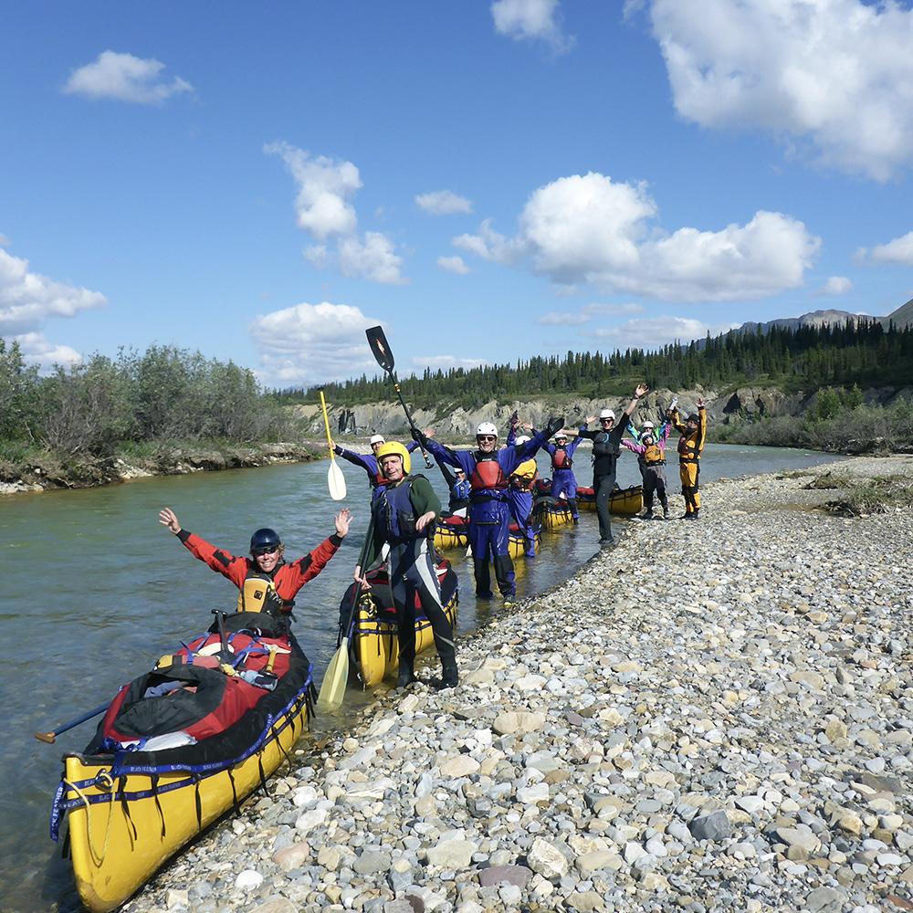 Snake River, Yukon (Black Feather)