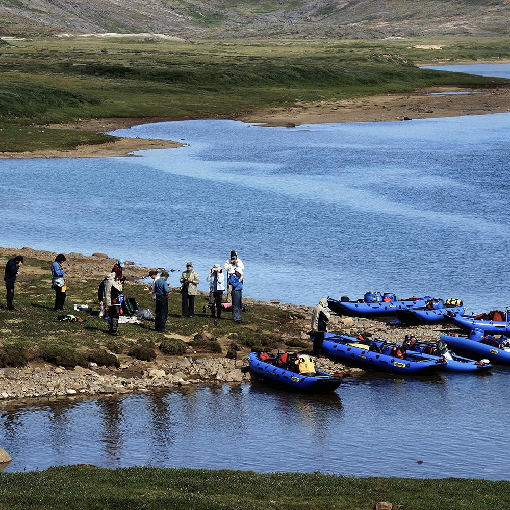 Soper River, Baffin Island, Nunavut (Black Feather)