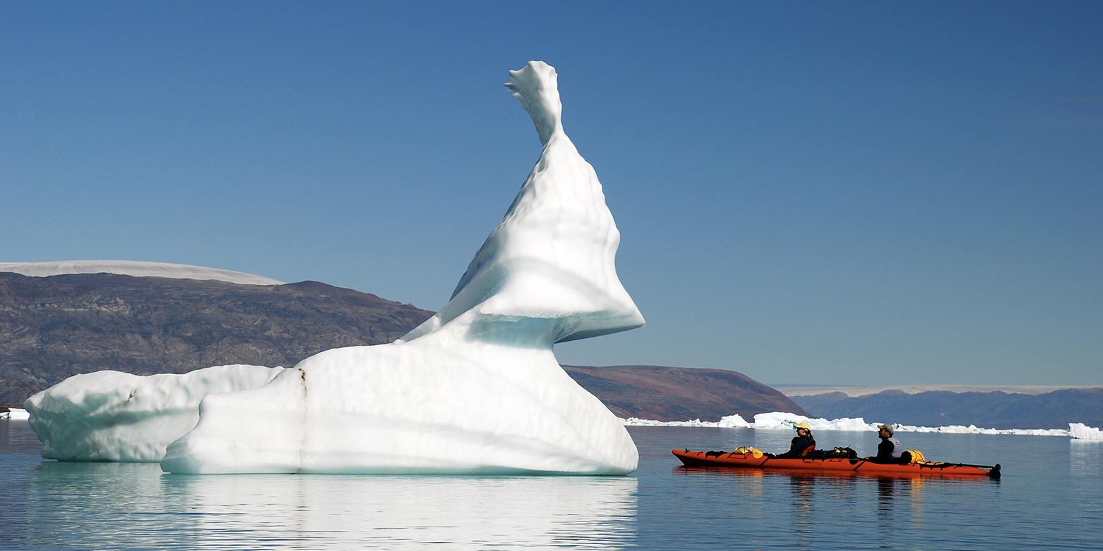 Scoresbysund, Greenland (Black Feather)