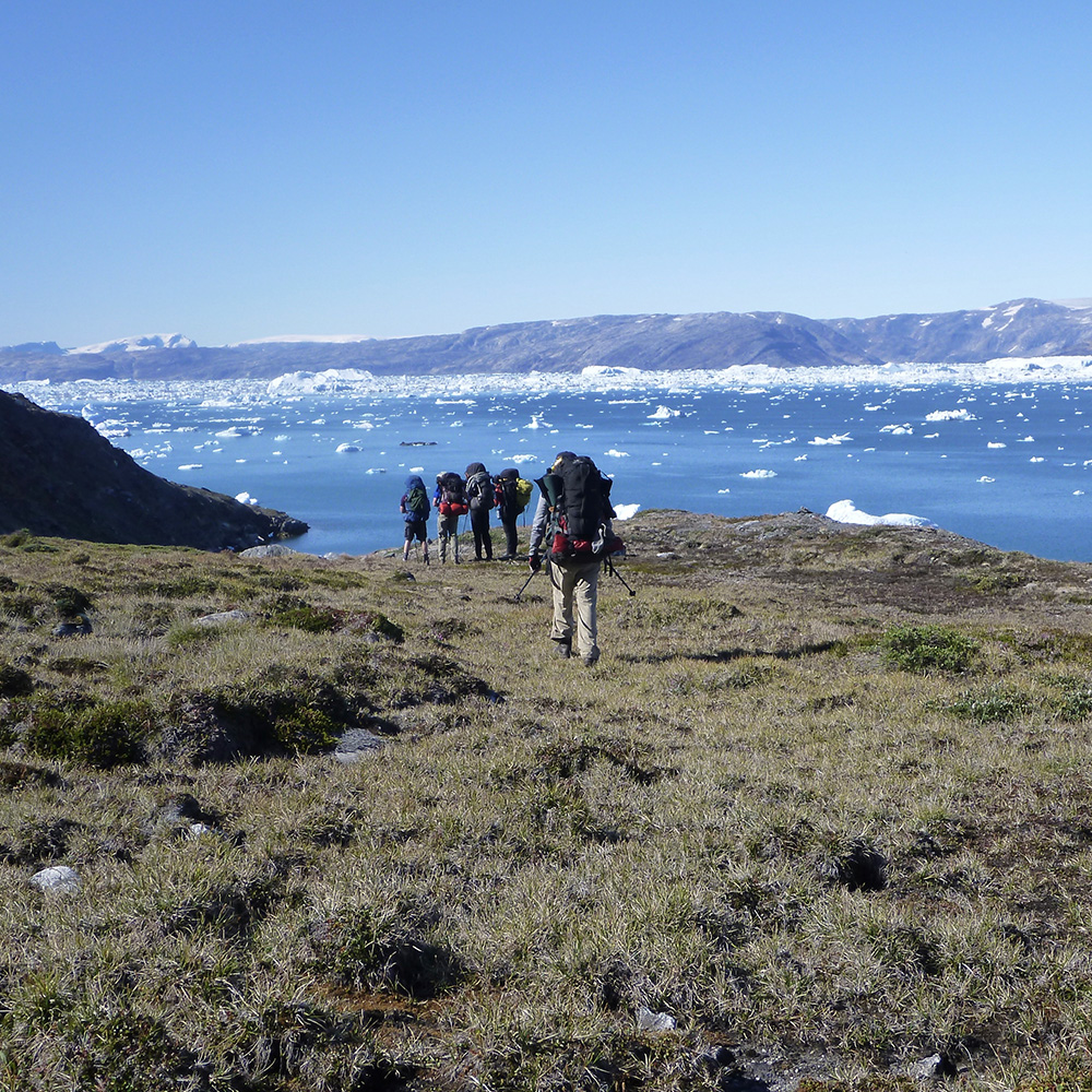 East Greenland Hiking (Black Feather)